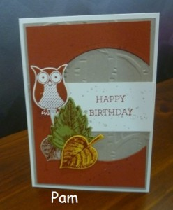 Pam's card