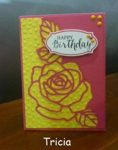 Tricia card