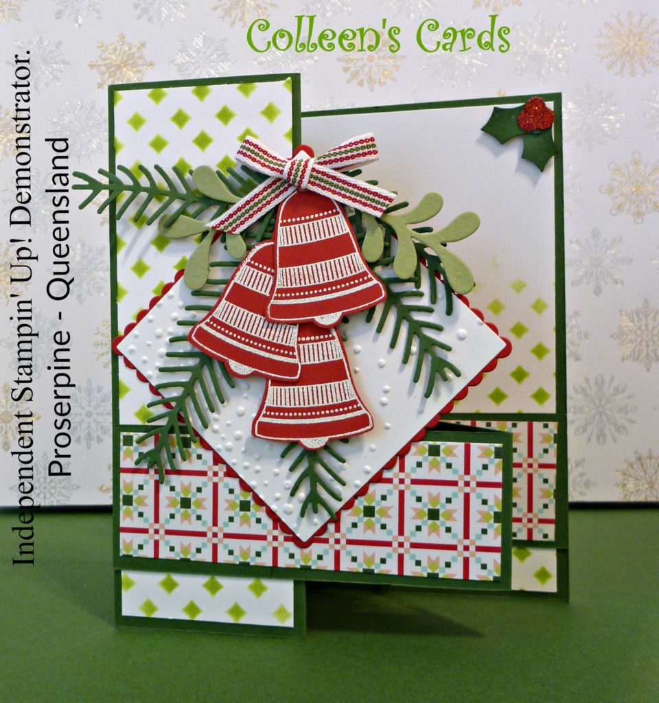 Christmas card Z fold